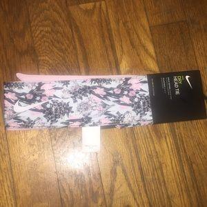 Pink Reversible Nike Headband